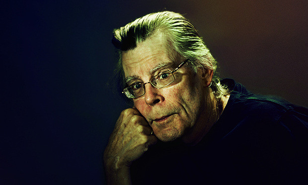 Stephen King: 'I have no wish to shut the door on the past. I have been pretty upfront about my past. But do I regret? I do. I do.' Photograph: Steve Schofield for the Guardian Steve Schofield/Guardian