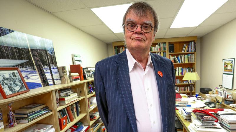 Garrison Keillor, host of A Prairie Home Companion. John Vettese/WXPN