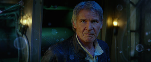 """Star Wars: The Force Awakens"" features some favorites, including Harrison Ford, and new kinetic wows. Credit Walt Disney Studios Motion Pictures"
