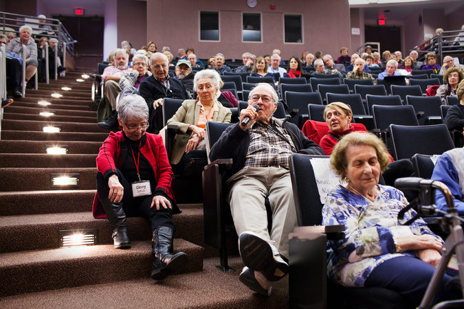 d and semi-retired students at the Osher Lifelong Learning Institute. Credit Chad Bartlett for The New York Times