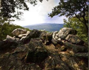 Looking toward Chimney Rock. Catoctin Mountain Park