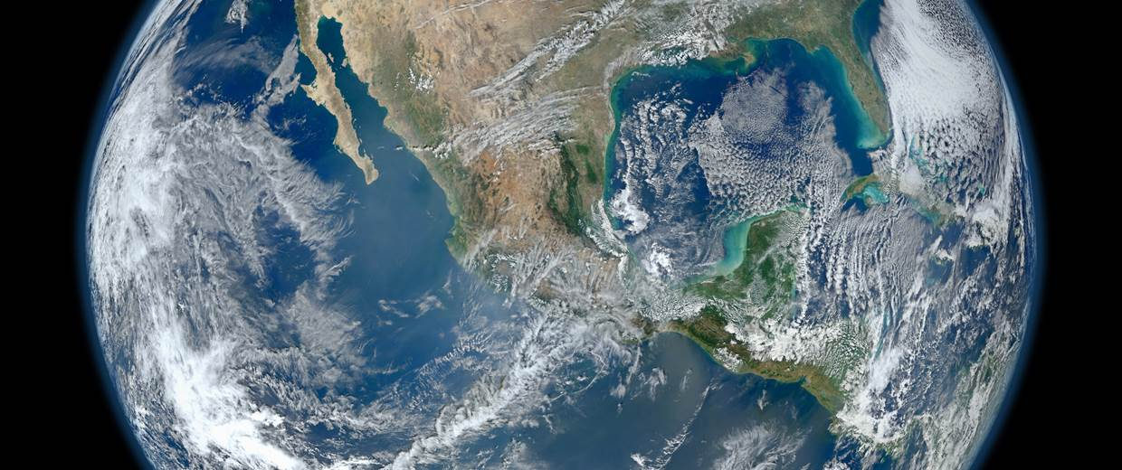 This image provided by NASA shows a 'Blue Marble' image of the Earth on Jan. 24, 2012. NASA via AP
