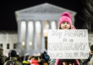 Immigrant protest image from Flicker