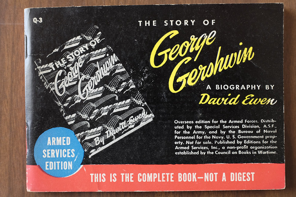 A biography of George Gershwin, in ASE format. Library of Congress