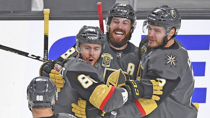 Yes, Vegas has a hockey team that is just four wins away from a Stanley Cup.  USATSI
