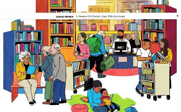 Opinion | To Restore Civil Society, Start With the Library – The New York Times