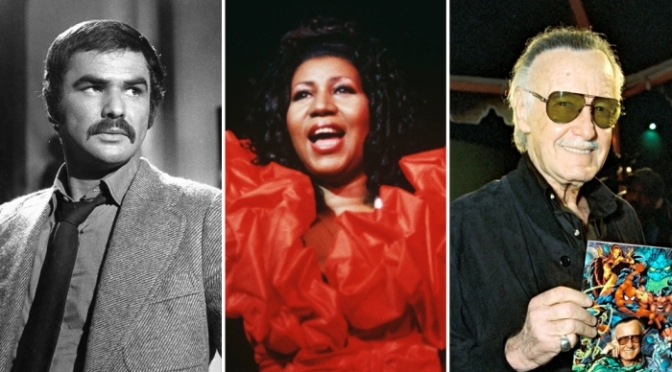 Celebrities Who Died in 2018: Aretha Franklin, Stan Lee Remembered – Variety