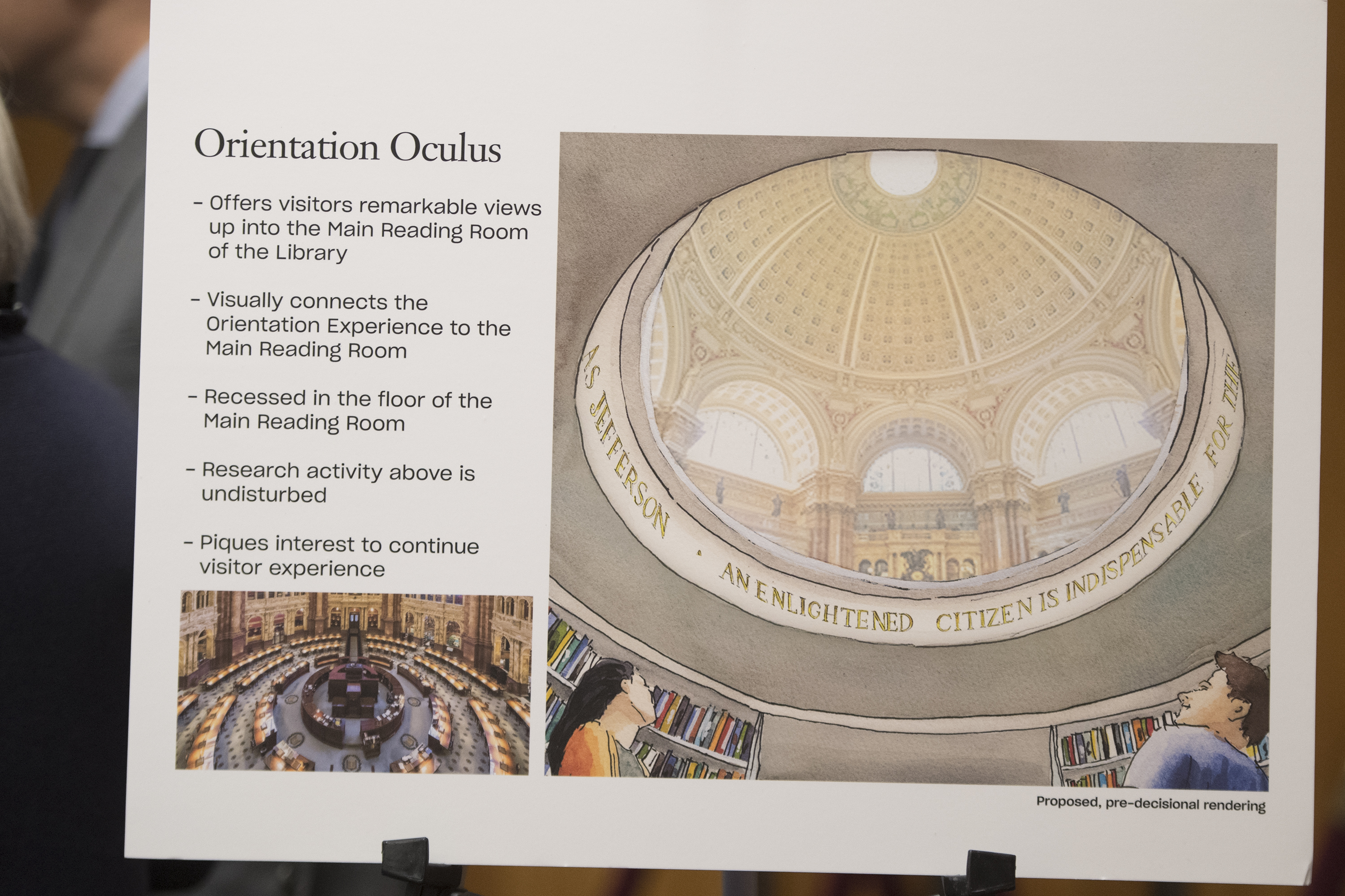 The Library of Congress has an ambitious plan to overhaul the visitor experience. (Bill Clark/CQ Roll Call)