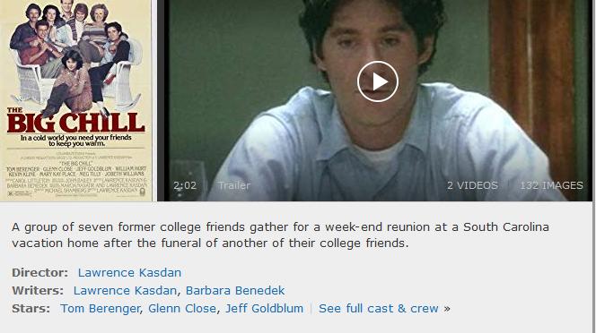 Screenshot IMDB