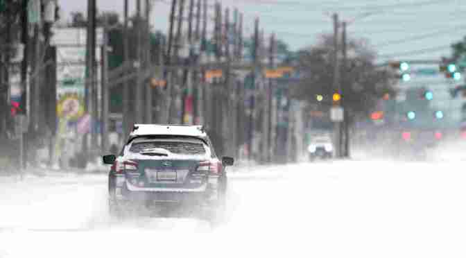Major Storm Unleashes Ice, Snow And Frigid Temperatures Across Much Of The U.S.