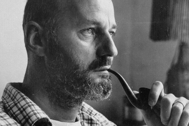 Poet and author Lawrence Ferlinghetti, pictured above in 1960, was born on March 24, 1919. AP