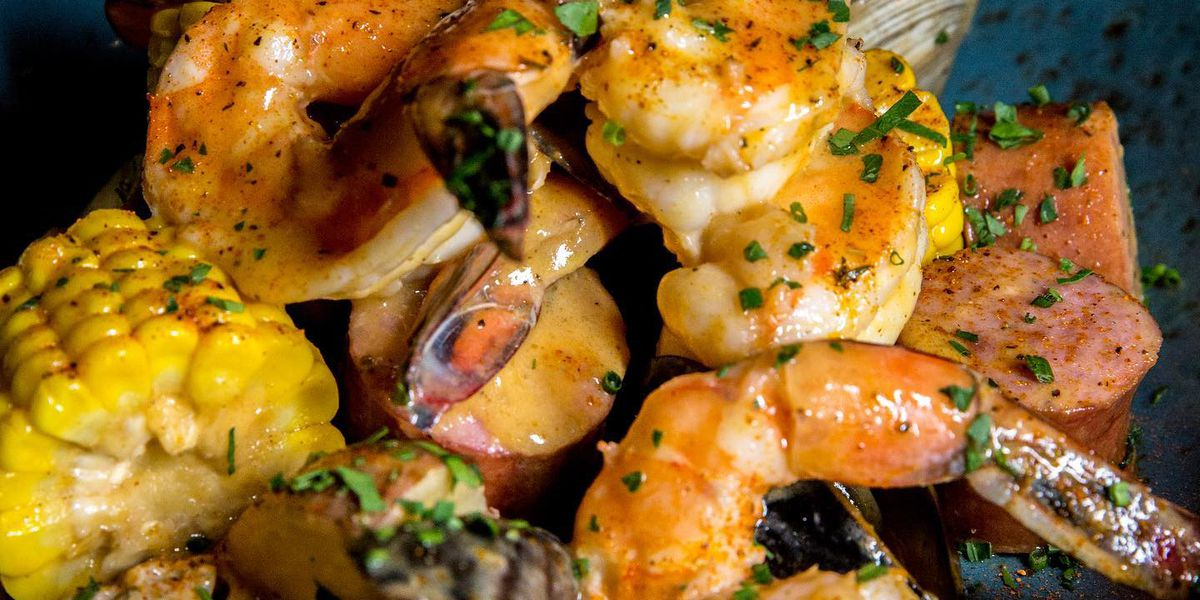Creole seafood boil at Emeril's New Orleans Fish House | Emeril's New Orleans Fish House/Facebook