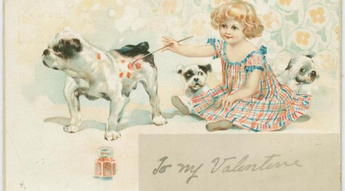 We Love These Vintage Valentines from the New York Public Library