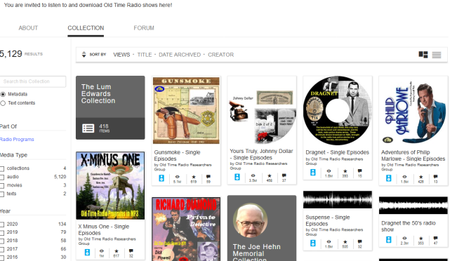 Old Time Radio : Free Audio : Free Download, Borrow and Streaming : Internet Archive