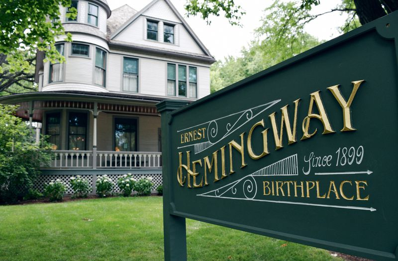 Visitors can get a glimpse of Ernest Hemingway's early life when they visit the Hemingway Birthplace Museum in Oak Park, which reopens to visitors on Saturdays starting March 6. (Hemingway Foundation of Oak Park)