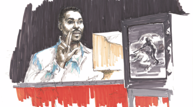 Rodney King Beating Was 30 Years Ago Today; Courtroom Sketches Now at Library | Library of Congress Blog