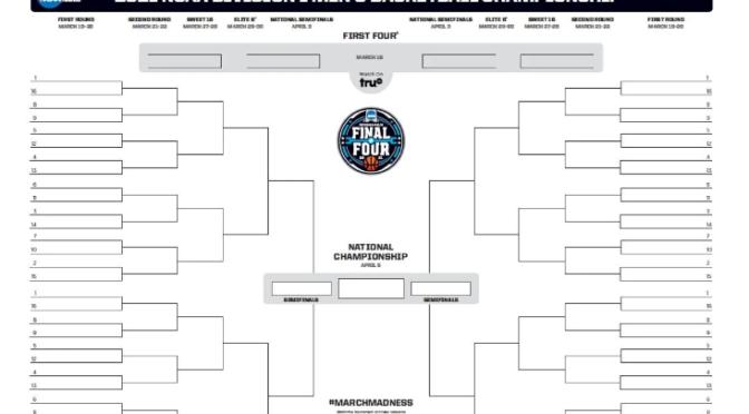 2021 NCAA bracket: Printable March Madness bracket .PDF | NCAA.com