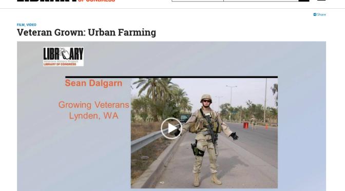 Veteran Grown: Urban Farming | Library of Congress