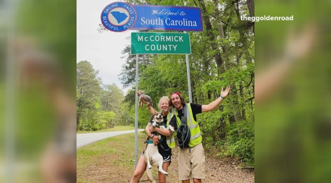 Couple's walk across America to end in Myrtle Beach | wltx.com
