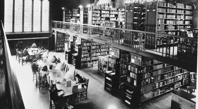 National Library Week: Librarianship as an Occupation and Profession | Inside Adams: Science, Technology & Business
