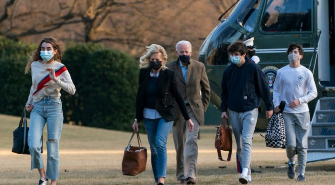 Biden's White House is all about family